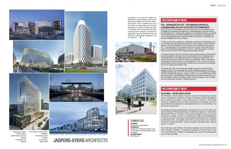 Magazine Bouwen aan Vlaanderen pronkt met Post X